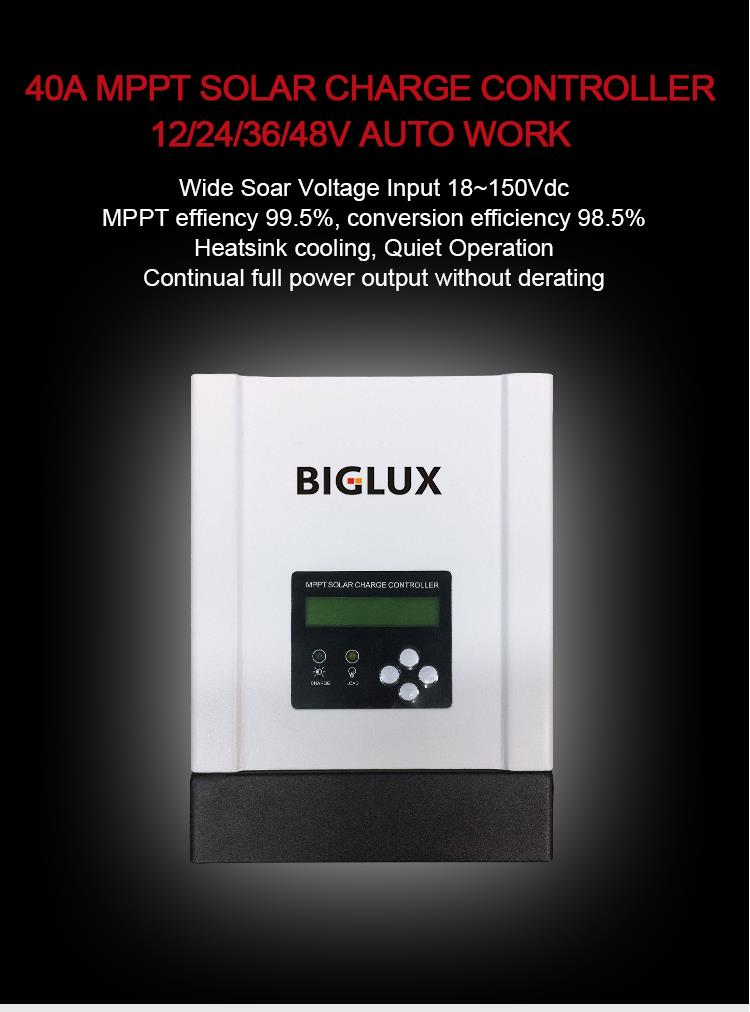 60A PWM Solar Charge Controller