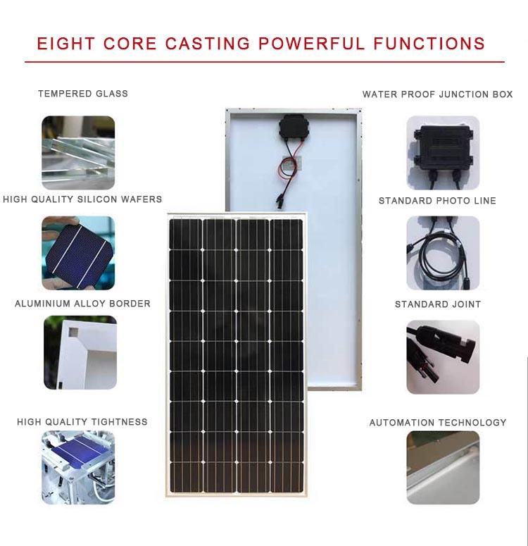 China 300W Foldable Solar Panel