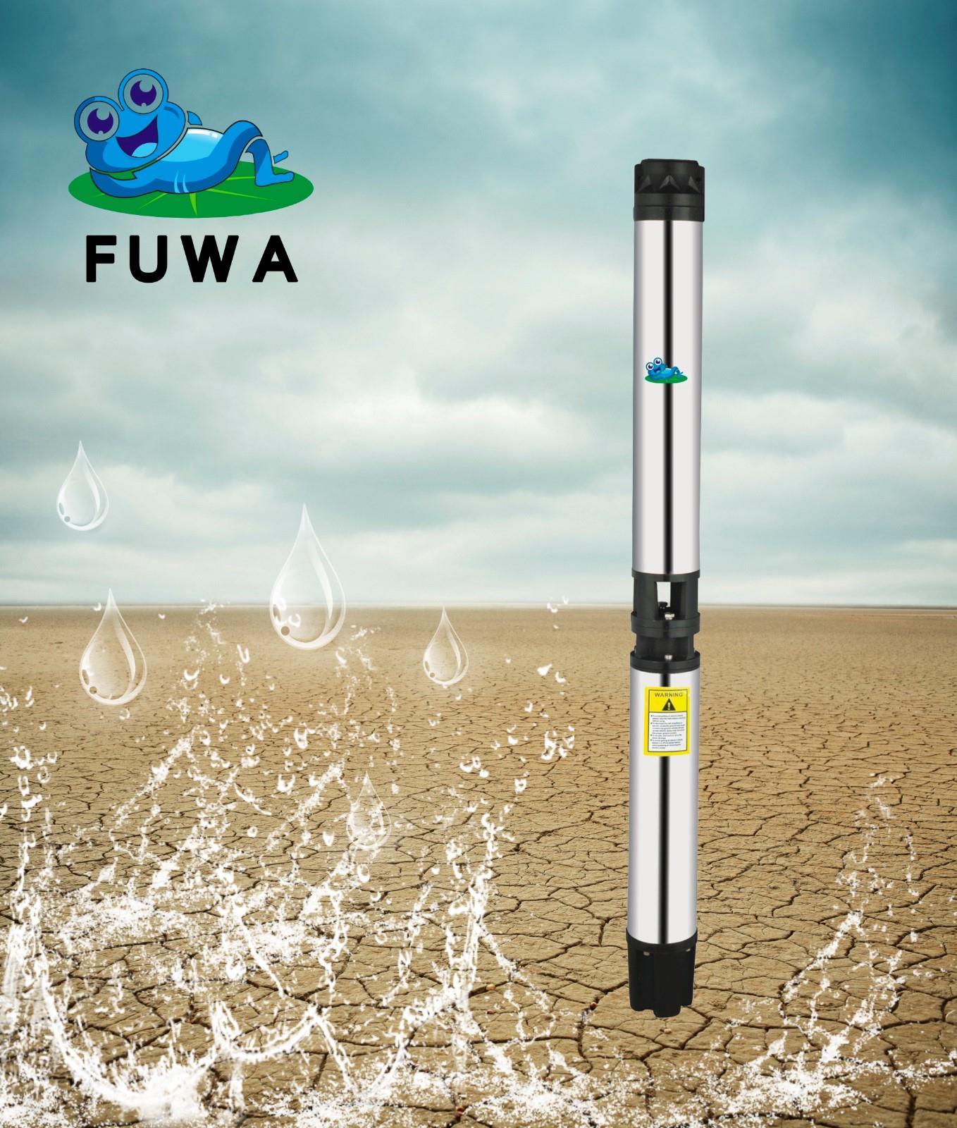 6 inch SR deep well pump submersible pump