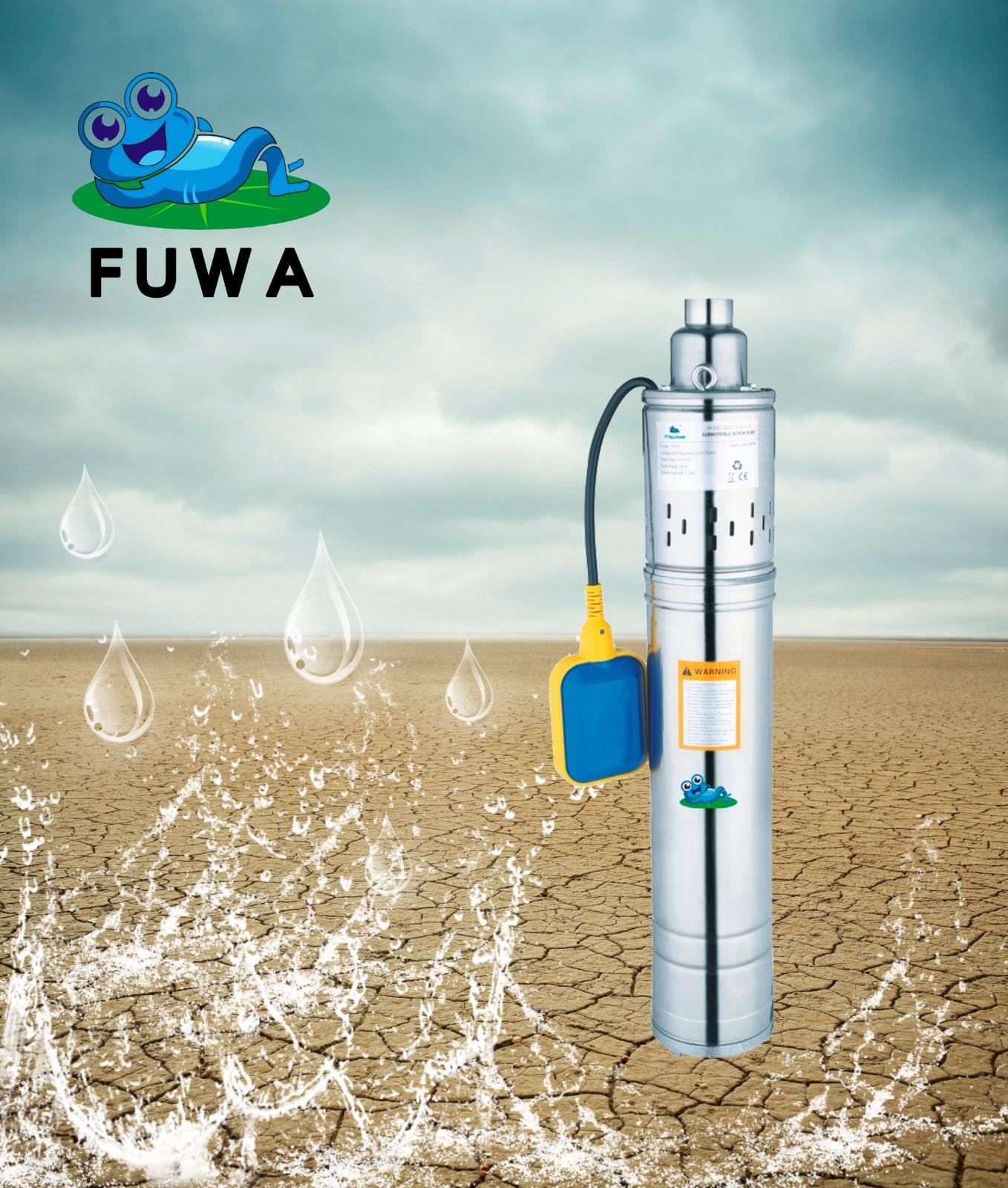 Screw Submersible Pump with float switch