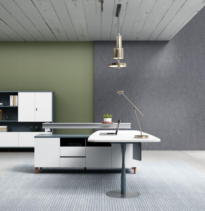 Modern computer desk design
