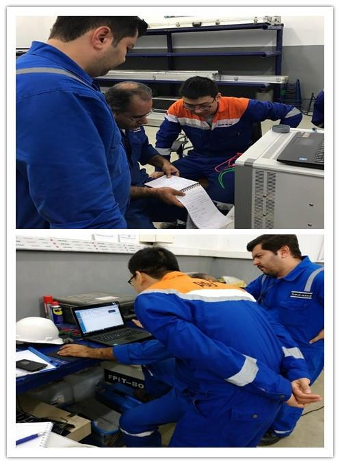 Sitan Engineers provide PLT technical training in Middle east