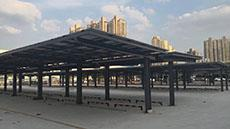 Wuxi Xinzhou industrial park PV carport 230-130