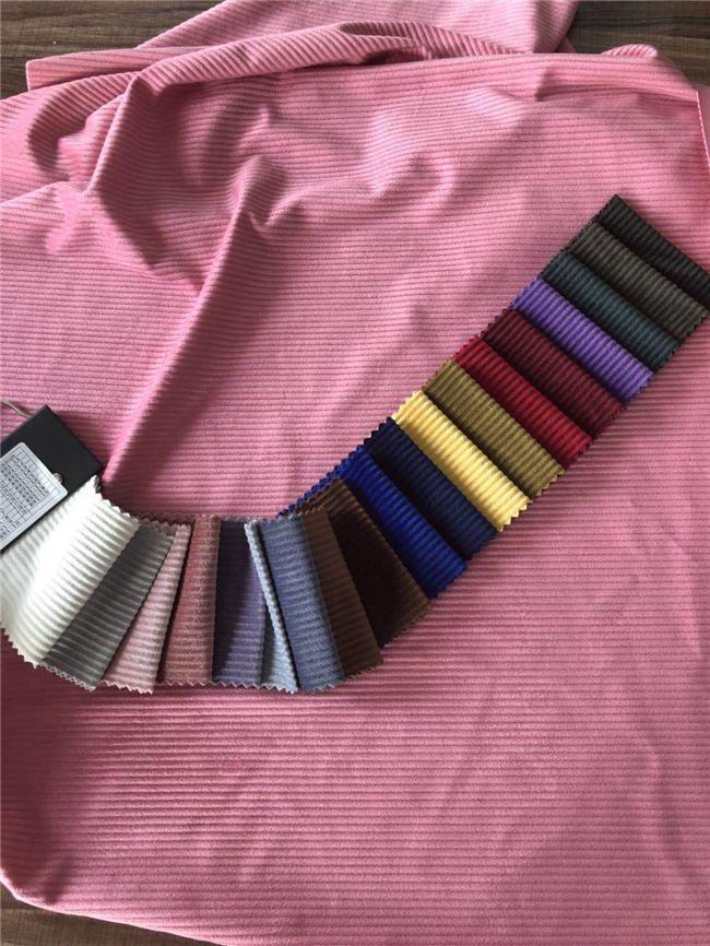corduroy velvet is 100% polyester