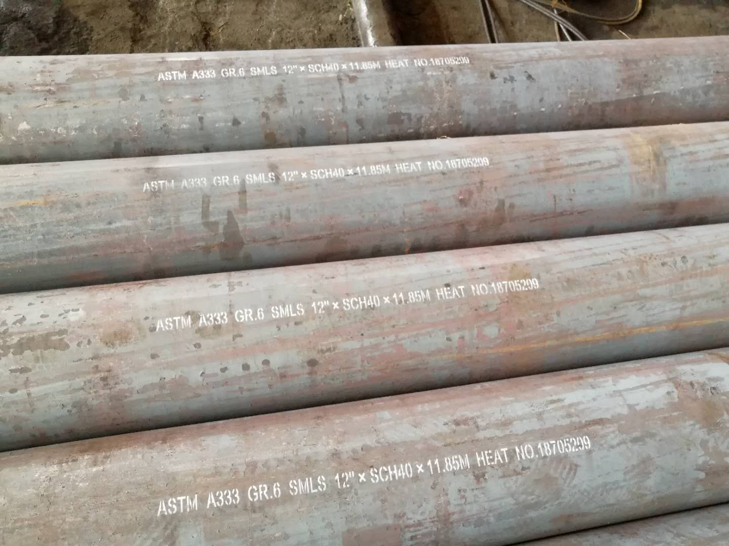 ASTM A333  Gr6 Low Temperature Seamless Steel Pipe