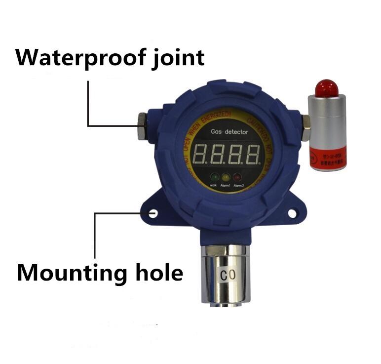 RS485 Output Fixed Online Nh3 Ammonia Gas Leak Detector Amalyzer