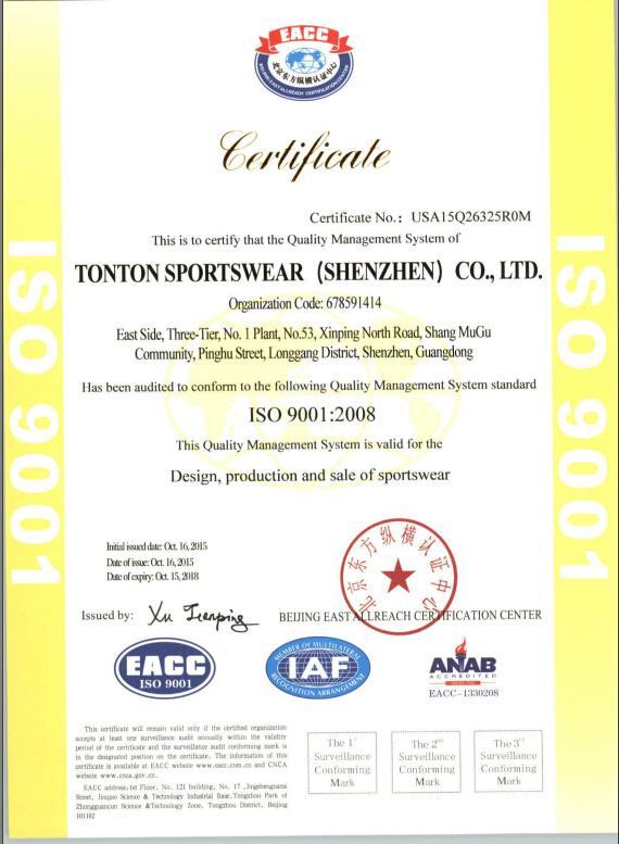 Hệ thống quản lý chất lượng ISO9001