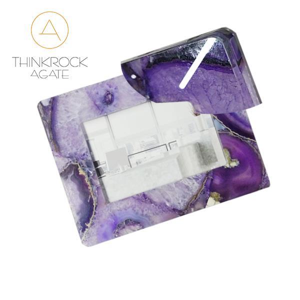 purple agate Photo frame4