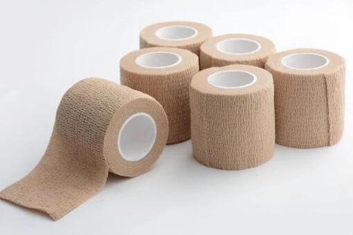 adhesive gauze roll