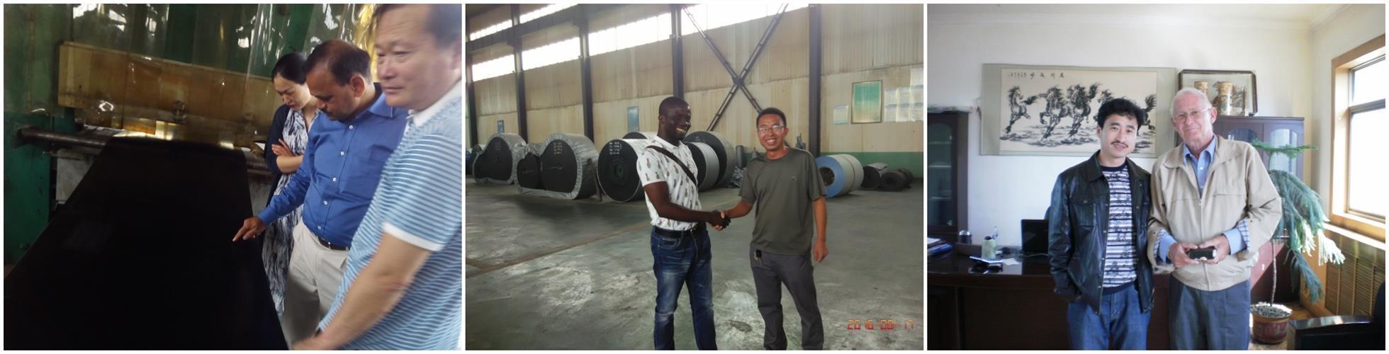 customer visit company photos