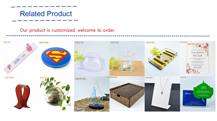 Rectangular plastic food acrylic serving tray  production range.png