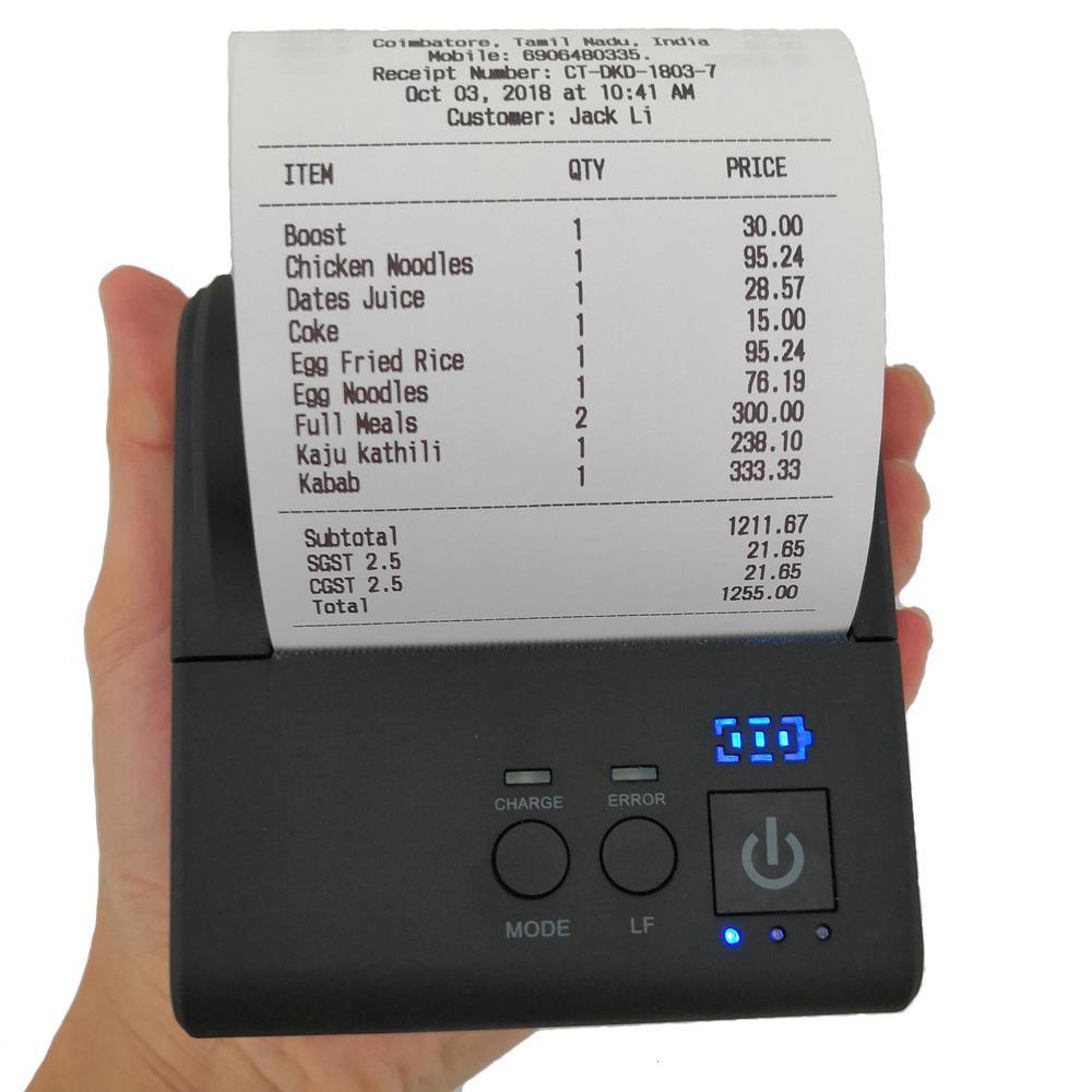 ER-80 portable printer
