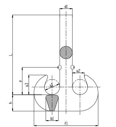 Crane block With Double Hook