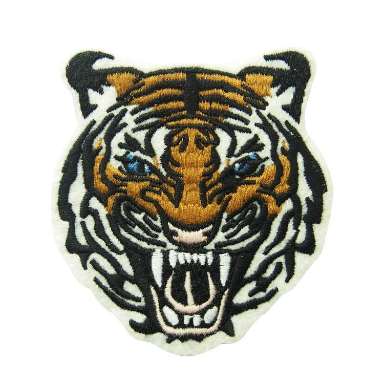 tiger embroidered patch (5)