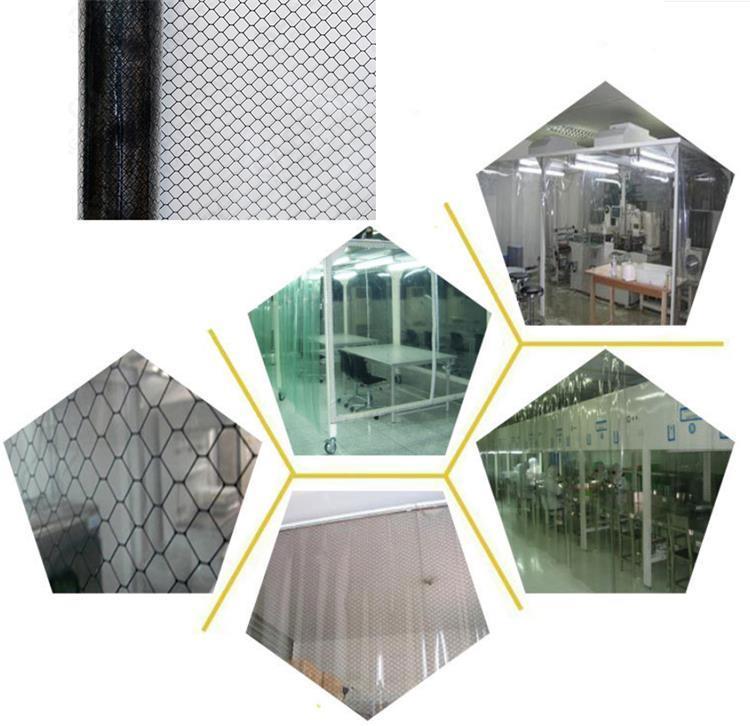 esd grid curtain sheet