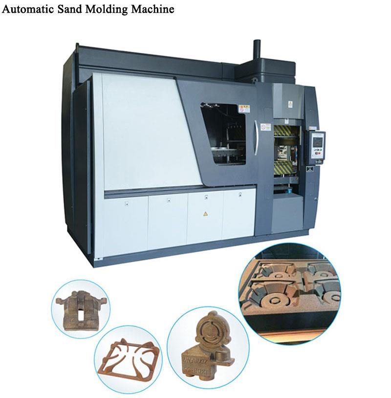 horizontal sand foundry machine