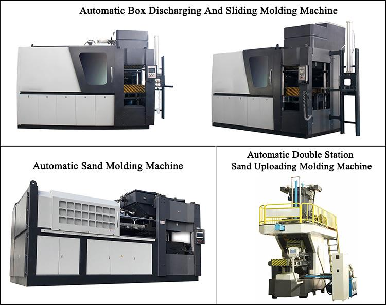 automatic green sand moulding machine
