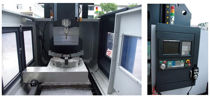 Vertical multi spindle drilling machine