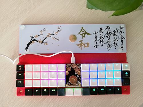 Keyboard With Kailh Choc Switch_副本