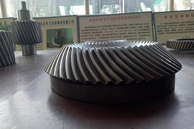 finishing mill spiral bevel gear