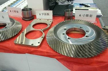 rolling mill spiral bevel gear