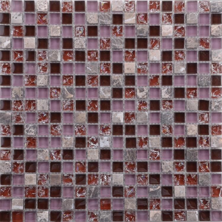 Purple Glass Mosaic Tiles (1)