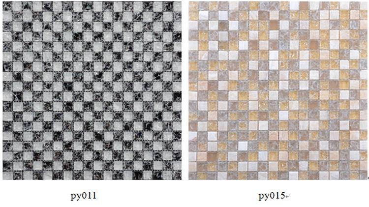 Purple Glass Mosaic Tiles (2)