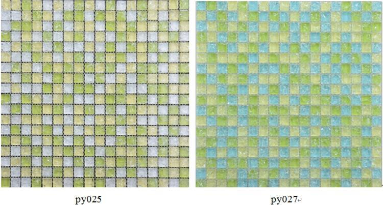 Purple Glass Mosaic Tiles (3)