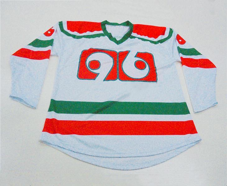 camisetas de hockey de equipo personalizado