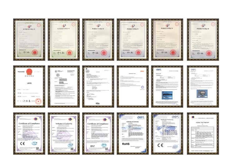 Certificates