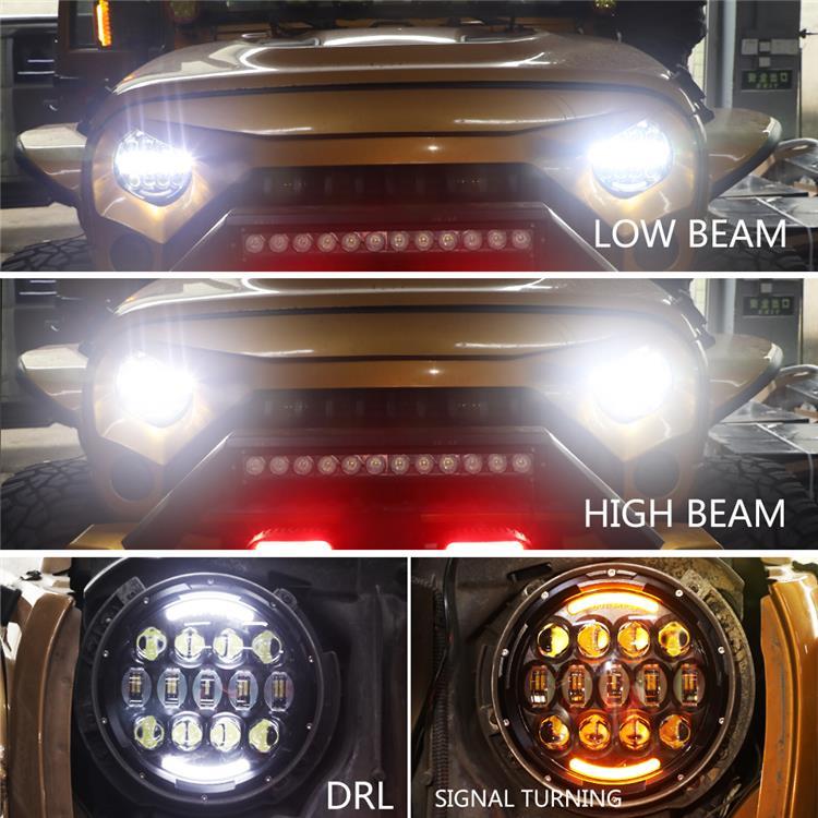 low beam&high beam&DRL&Turn signal