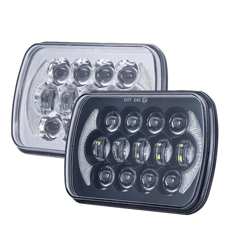 1. 5x7 inch 105W square headlights
