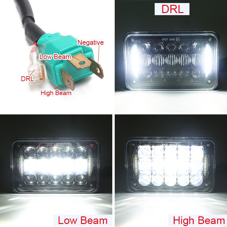 2. high low beam and DRL