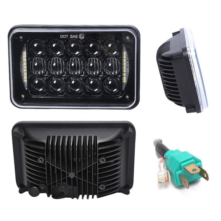 3. Waterproof H4 plug, easy plug and play