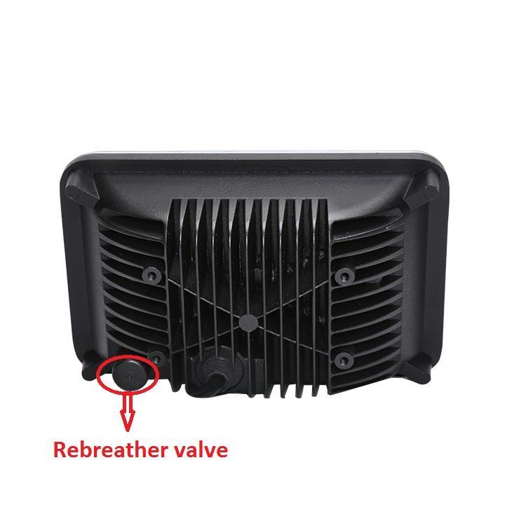 4. With Rebreather valve, best waterproof