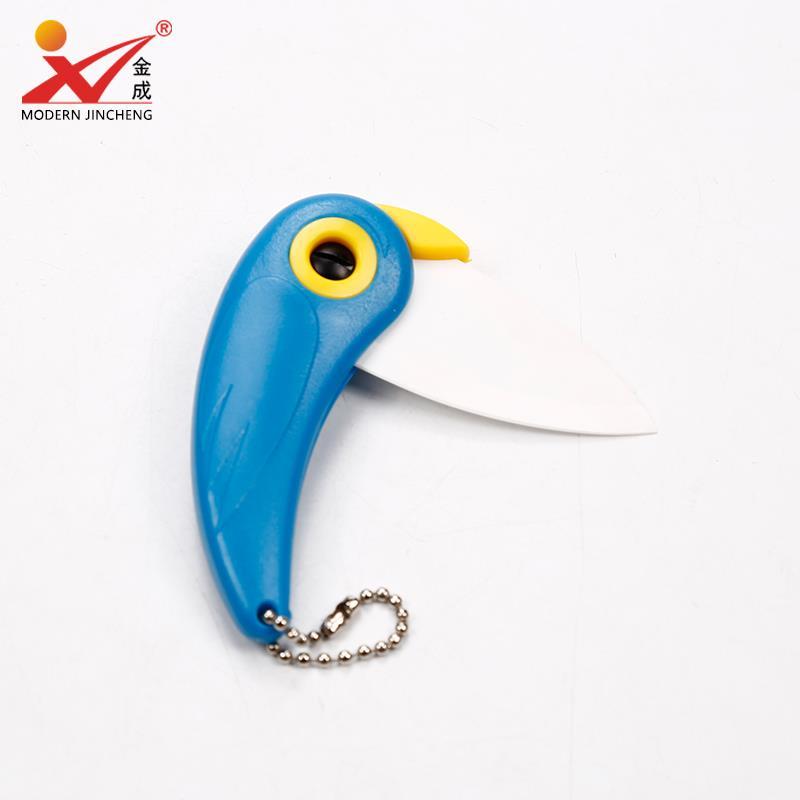 Parrot Folding Knife Ceramic Knife-Fruit-vegetable-baby-good quality