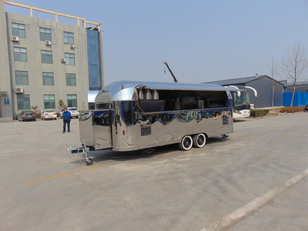 UAE food trailer caravan