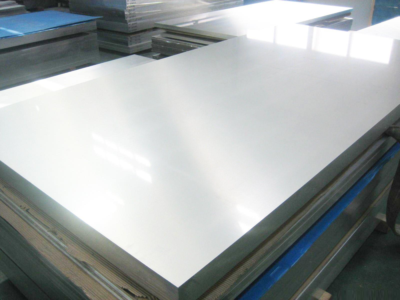 1/8 thick type 304 stainless steel diamond plate