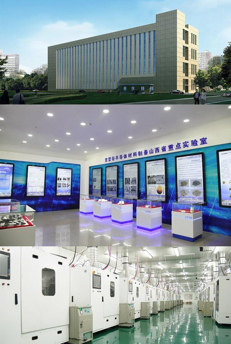 lab grown sic crystal material factory