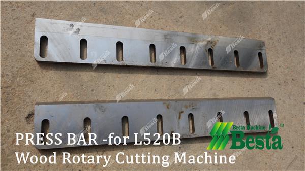 press bar for wod rotary cutting machine