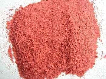 Straw berry powder
