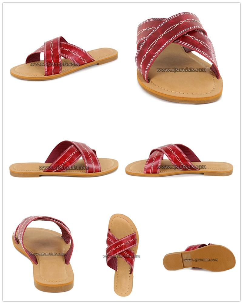 Women's crossover flat sandals_副本