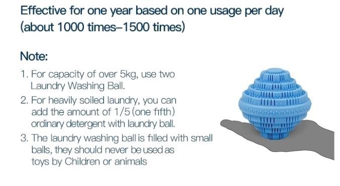 ion washing ball