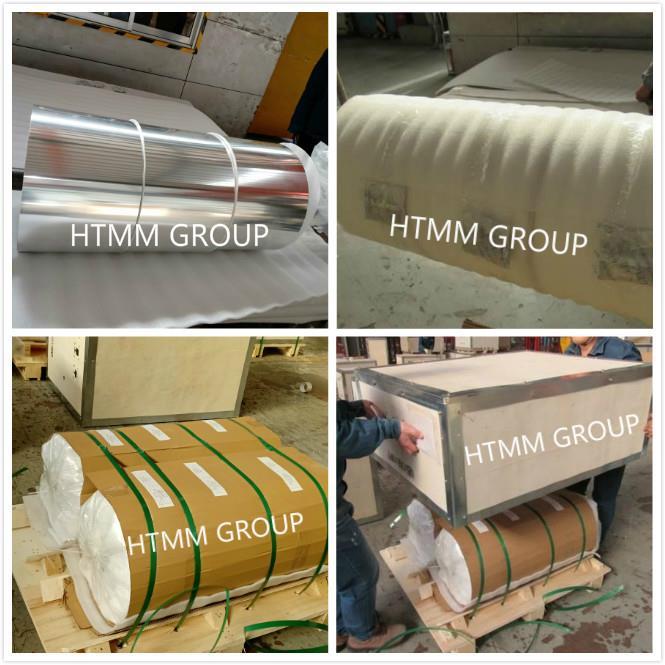 Container aluminium foil