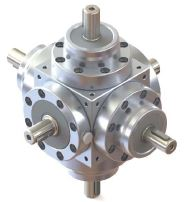Bevel Gearbox with 6 Shaft