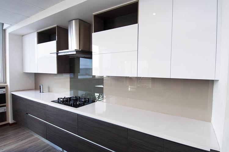 how to maintain the melamine finish cabinets