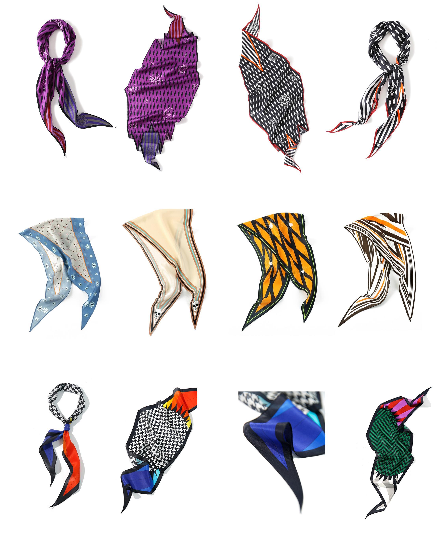 bufanda de diamante personalizada