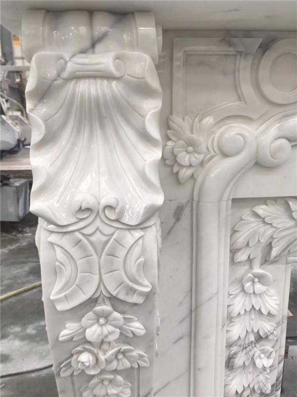 Luxurious Calacatta  fireplace .JPG