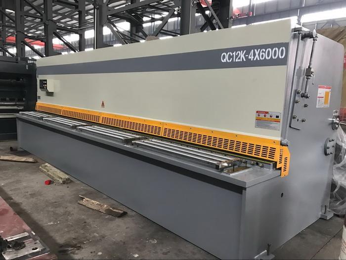 free roulette Yawei 6m sheet metal shears 4mm thin plate cutting machine made in china