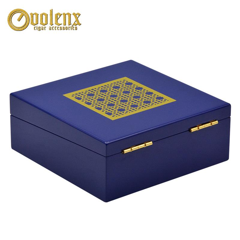 Wooden jewelry packaging box gift-3